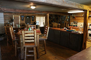 Texas Hunt Lodge Kitchen