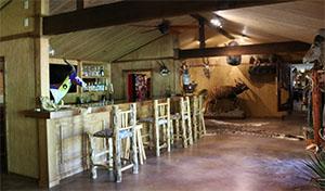 Texas Hunt Lodge Stocked Bar