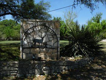 Texas Hunt Lodge Sign