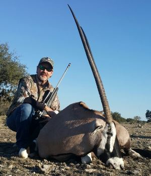 Texas Gemsbok Hunt