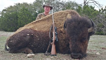 Record Buffalo Rifle Hunt