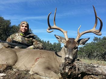 Texas Whitetail Management Deer Hunt