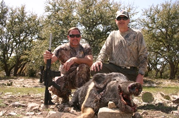 Texas Hog Hunt