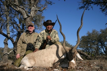 World Record Addax Hunt