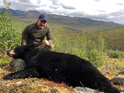 Black Bear Hunt Alaska