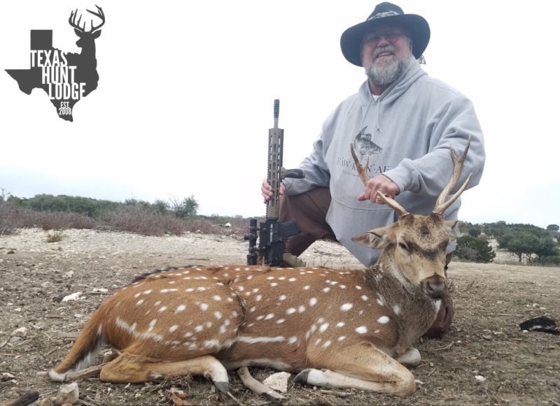 Axis Hunting in Texas
