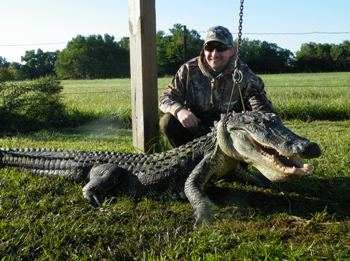 Texas Alligator Hunt