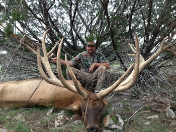 Record Elk Hunt