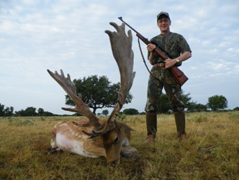 World Record Fallow Buck Hunt