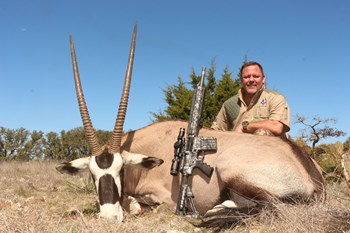 Trophy Gemsbok Bull Hunt