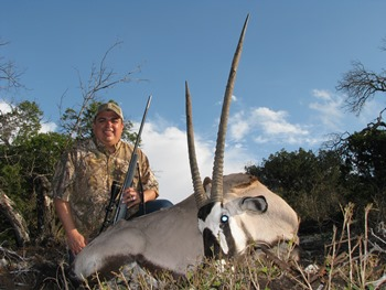 Trophy Gemsbok Hunt