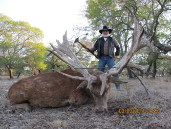 396 SCI Red Stag Extra Typical World Record Hunt