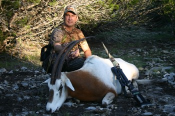 Scimitar Oryx Hunt