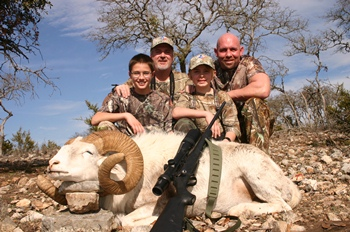 Trophy Texas Dall Ram Hunt