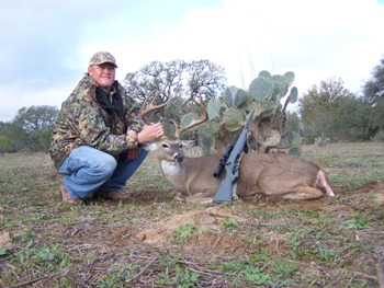 Texas Management Whitetail Hunts