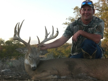 186 inch Texas Whitetail Hunt