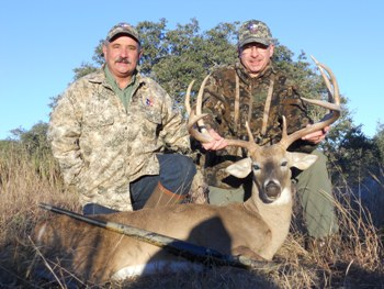 168 inch Texas Whitetail Hunt
