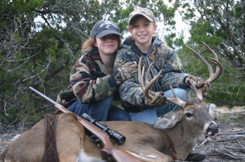 Hill Country Texas Whitetail Hunt